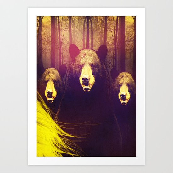 Once Upon A Time: Goldie Art Print