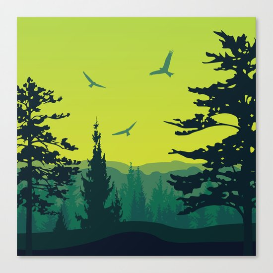 My Nature Collection No. 13 Canvas Print