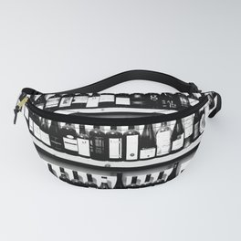 Wine Bottles in Black And White #society6 #decor Fanny Pack