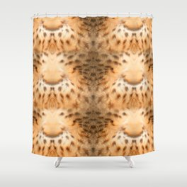 living fur Shower Curtain