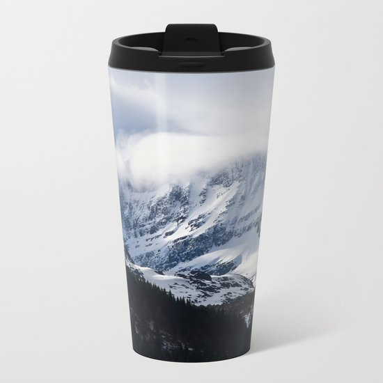 Mountain Mood III Metal Travel Mug
