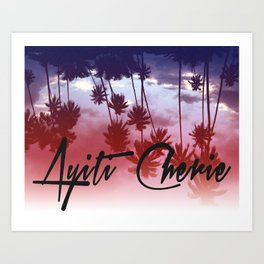 Ayiti Cherie Art Print