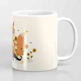 Jouer dans les tournesols Coffee Mug