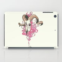 aries iPad Cases featuring Aries. by Lokinne