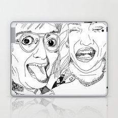 Yearbook Faces Laptop & iPad Skin