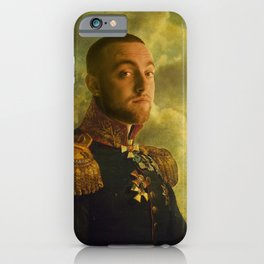 Mac Miller Poster, Classical Painting, Regal art, General, Hip Hop Poster, Print, Rap Poster iPhone Case