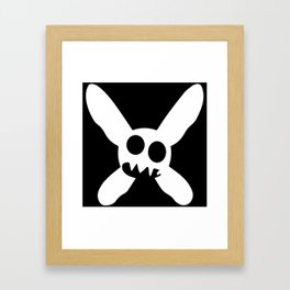 Necrotic Pixies Jolly Rodger Framed Art Print
