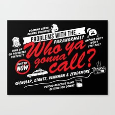 Better Call The Boys in Gray Canvas Print