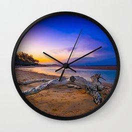 North stradbroke island Wall Clock