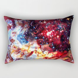 ALTERED Large Magellanic Cloud Rectangular Pillow