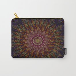 flower power mandala Carry-All Pouch