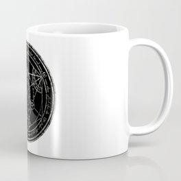 Human Transmutation Circle - silver grunge Coffee Mug