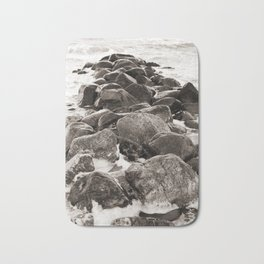 Breakwater on the Baltic Sea 2 Bath Mat