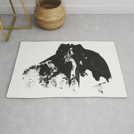 Lazy Daze Abstract Silhouette Rug