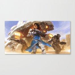 Captain ROSINI GHOSH - Strike Team NEXUS Canvas Print