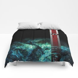 N7 Battle Damaged Armor Comforters