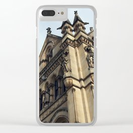 gothic revival - bradford city hall Clear iPhone Case