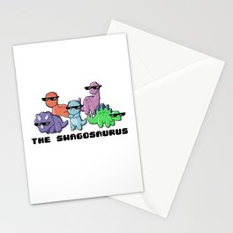 The Swagosaurus Stationery Cards