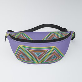 Nineties African Triangle Fanny Pack