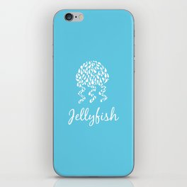 Jellyfish Blue iPhone Skin