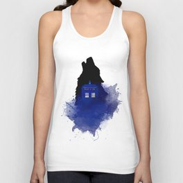 Dr.Who, Art, Design, Dr. Who Art, BadWolf, Bad Wolf Unisex Tanktop