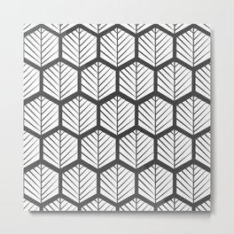 Nordic Pattern XVI Metal Print