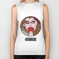 ultraviolence Biker Tanks featuring Fame Kills  by Luc Étrier