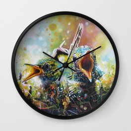 Welcome to Life Wall Clock