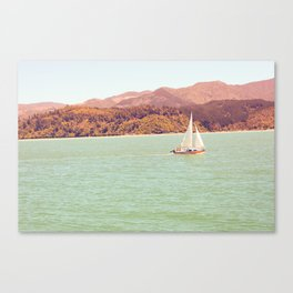 New Zealand Sailing Canvas Print