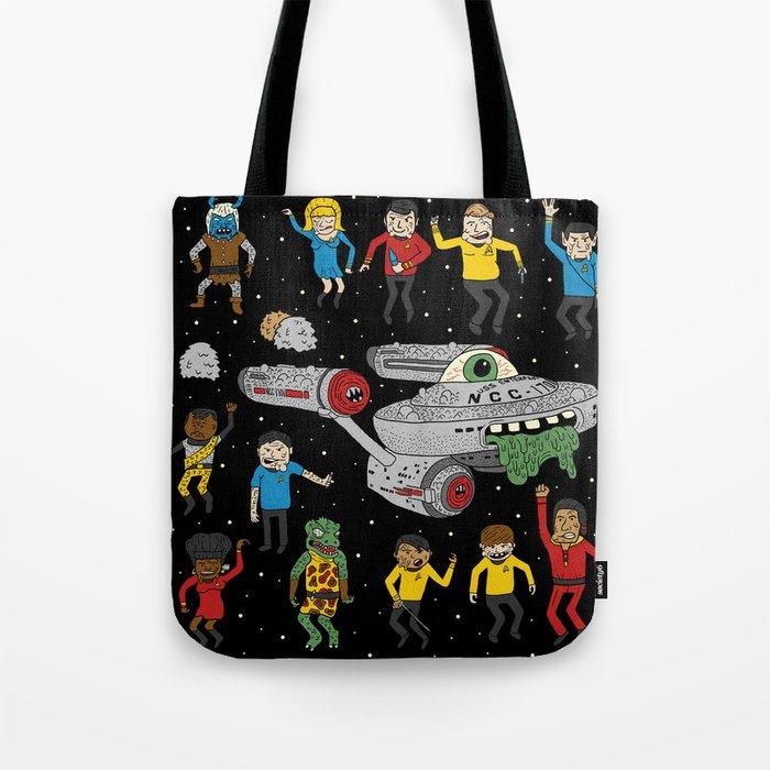 Star Trek The Reanimated Series Tote Bag
