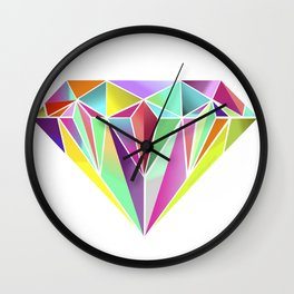 Diamond No. 1 Wall Clock