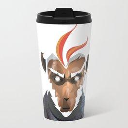 White Monkey King Travel Mug