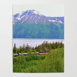 Alaska Passenger Train - Bird Point Poster