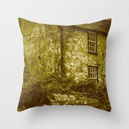vintage grunge scenery 3 Throw Pillow
