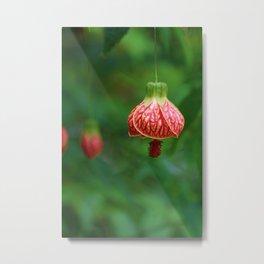 Floral Bell Metal Print