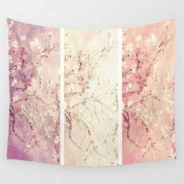 Vincent Van Gogh : Almond Blossoms Panel ART Wall Tapestry