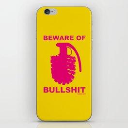 BEWARE OF BULLSHIT! iPhone Skin