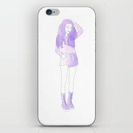 Typical Girl Katherine iPhone Skin