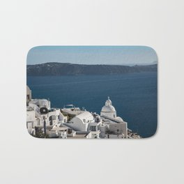 Thira, Santorini, Greece Bath Mat
