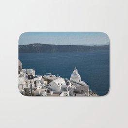Thira, Santorini, Greece Bath Mat