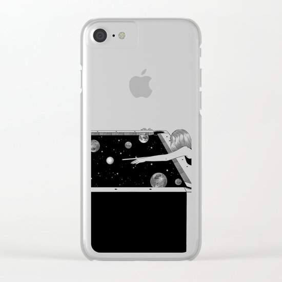 Big Bang Clear iPhone Case