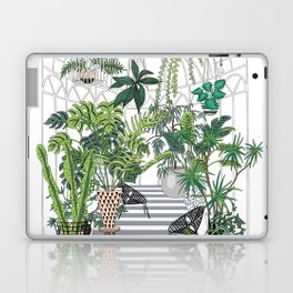 greenhouse illustration Laptop & iPad Skin