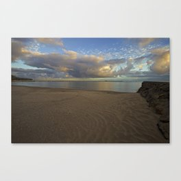 Shorncliffe Foreshore -002 Canvas Print