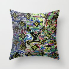 LV Throw Pillow