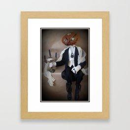 Sebastion Brimstone Framed Art Print