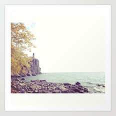 Split Rock Art Print