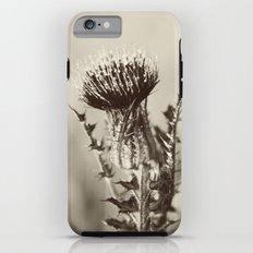 Thistle in Black and White iPhone 6s Tough Case