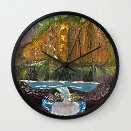 Canyon Falls Wall Clock