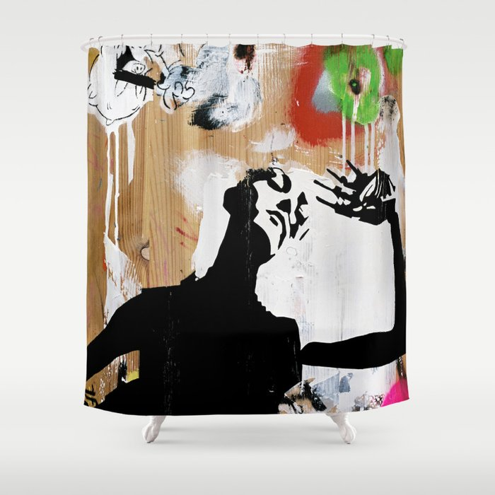 Hot NEW Decay Shower Curtain