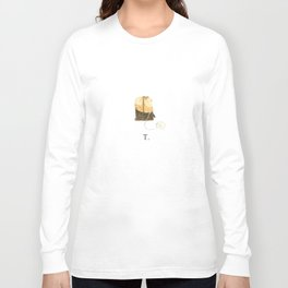 T is for Tea. Long Sleeve T-shirt